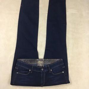 Rich & Skinny Size 28 Dark Blue Skinny Jean V28